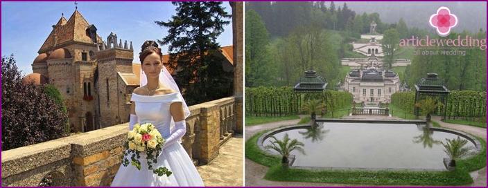Russian Wedding Honeymoon in Bavaria
