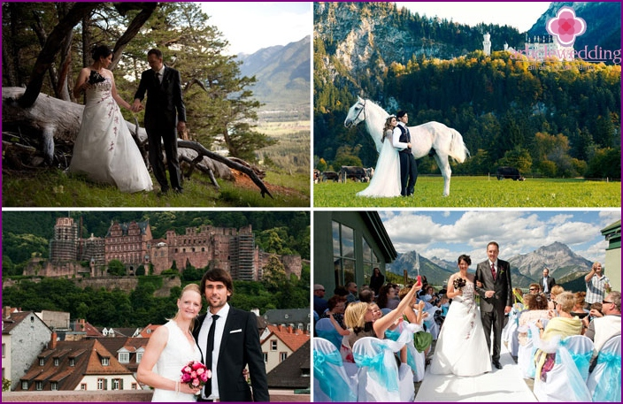 Wedding photos in Germany