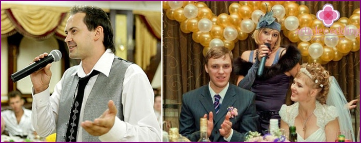 Toastmasters - Leading wedding program