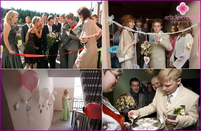 Bride Redemption - part of the wedding program