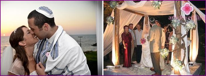 Wedding off the coast of Haifa