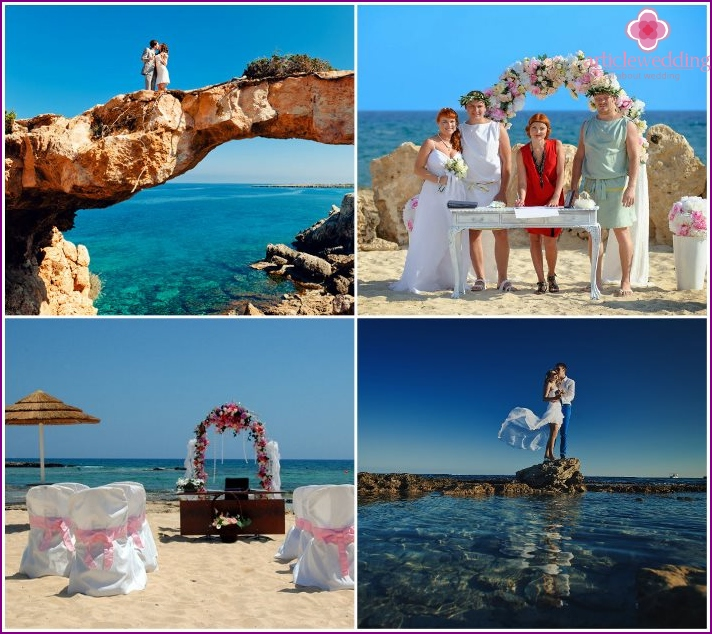 Wedding in Ayia Napa in Cyprus