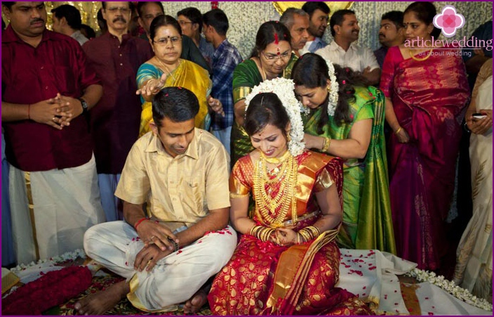 The official registration of marriage in India