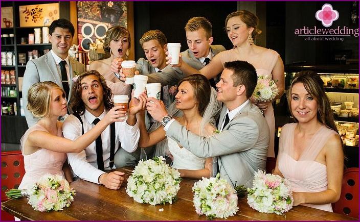 Развлечения для свадьбы в кругу семьи
