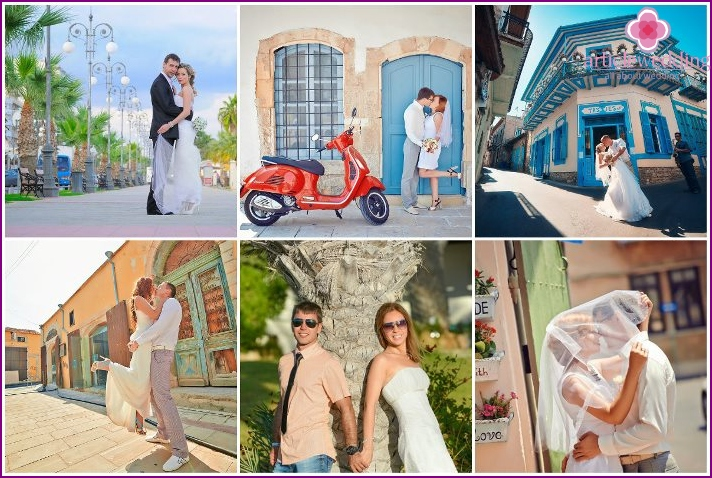 Marriage among the beauties of Larnaca
