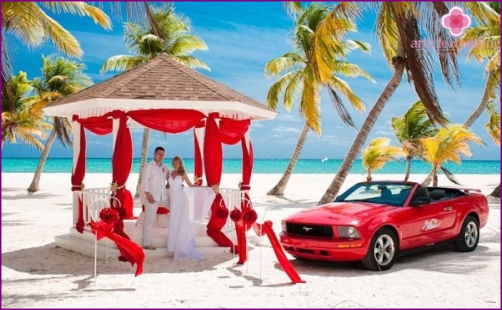 Dominican Scenario wedding