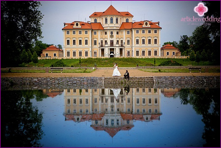Liblice castle rental for wedding