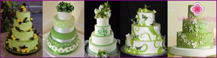 Lime Wedding Cake