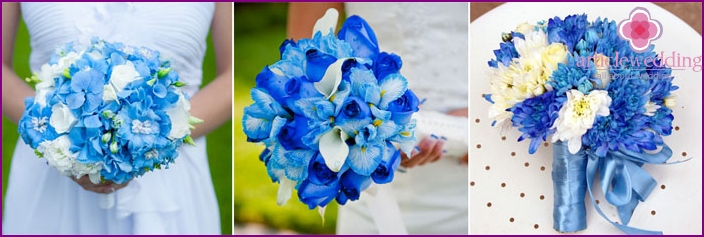 Heavenly wedding bouquet