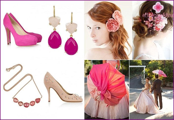Color accessories for celebrations