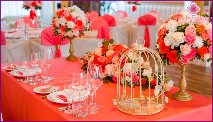 Decor coral shade