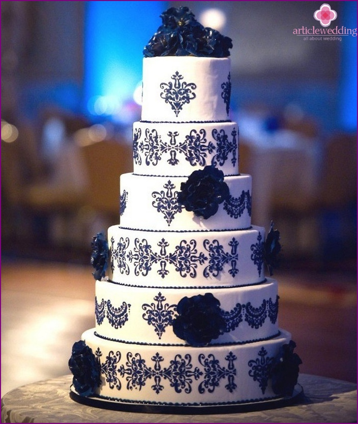 The idea for the decoration of the cake