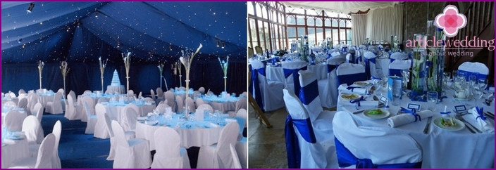 Decorating banquet hall