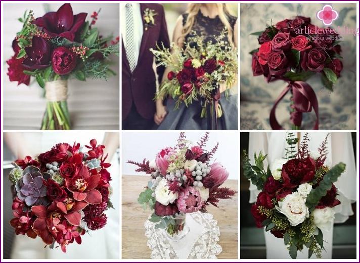 Bouquet marsala style