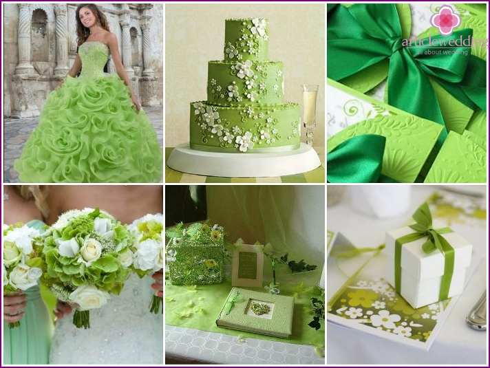 Green wedding is relevant for all seasons