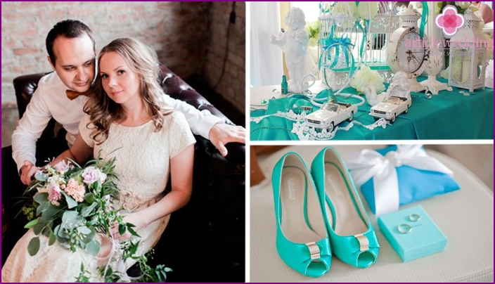 Wedding Loft in turquoise colors
