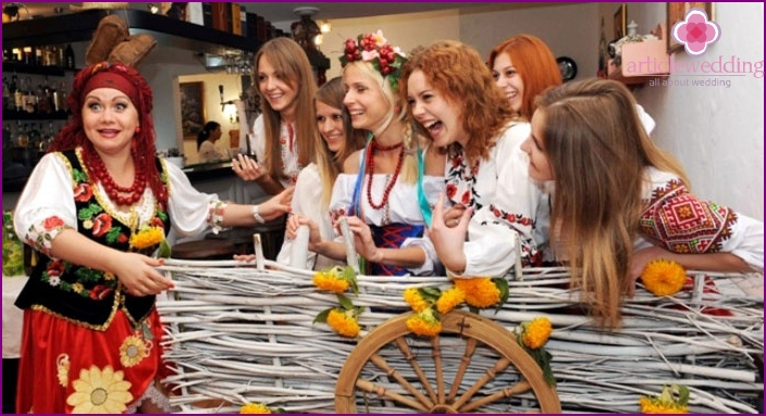 Bride Redemption in Ukrainian style
