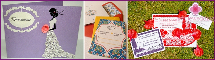 Making celebration invitation by category