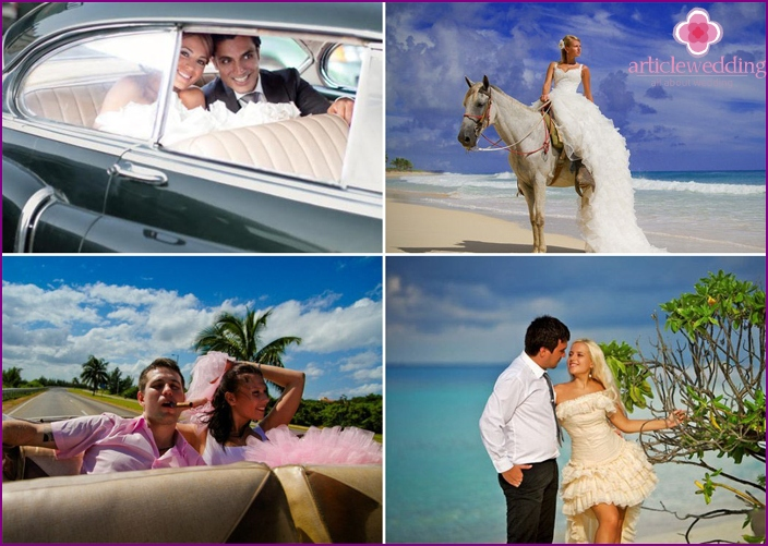 Ideas for the wedding photo shoot-Latin
