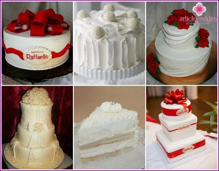 Rafaello Cake for wedding