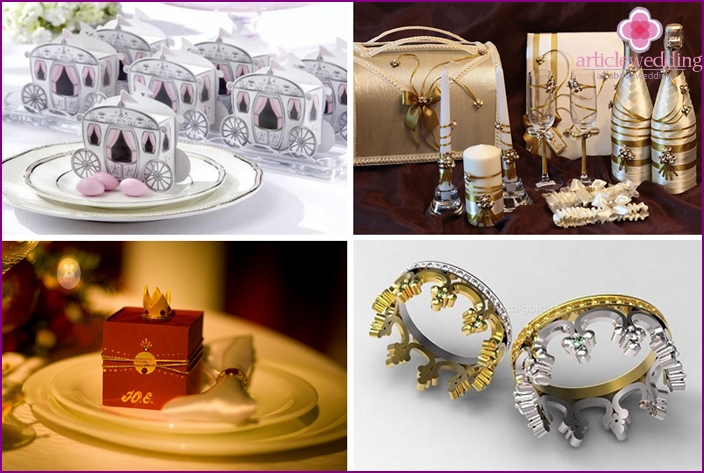 Royal accessories - the epitome of luxury