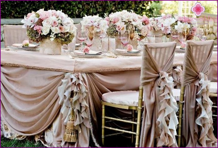 Making vintage wedding