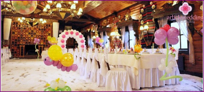Balloons - Venetian decoration for wedding