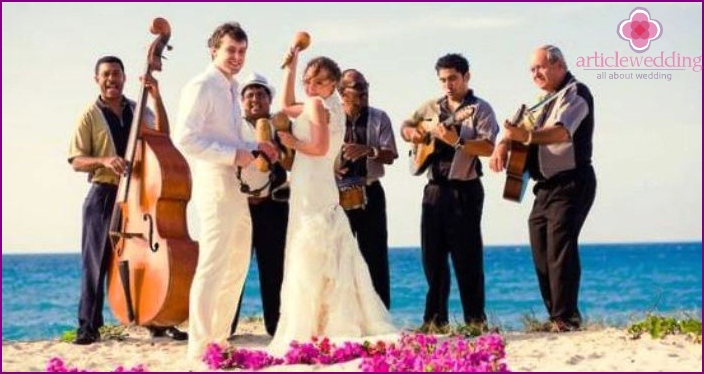 Coast - located in the Mexican wedding