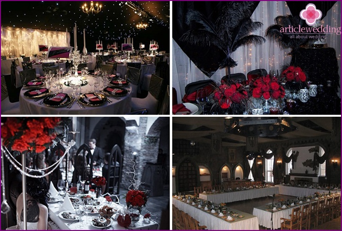 Banquet hall can be outrageous and shocking