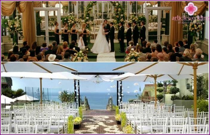 American Wedding Venue