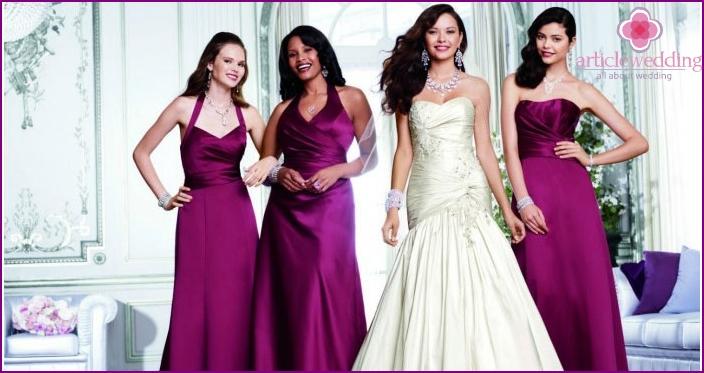 American bride dress