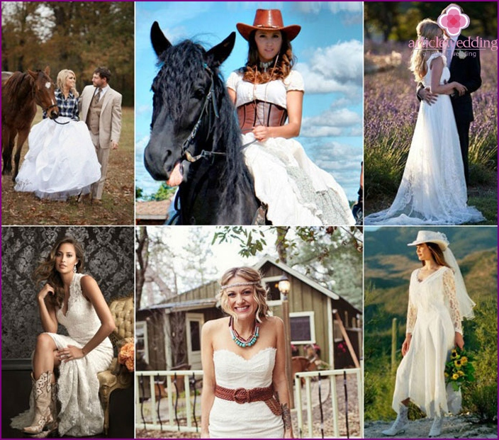 Country Style Wedding bride