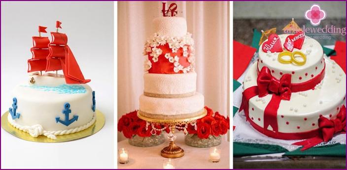 Wedding Cake Scarlet Sails