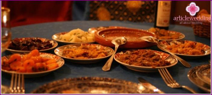 Interesting Moroccan cuisine