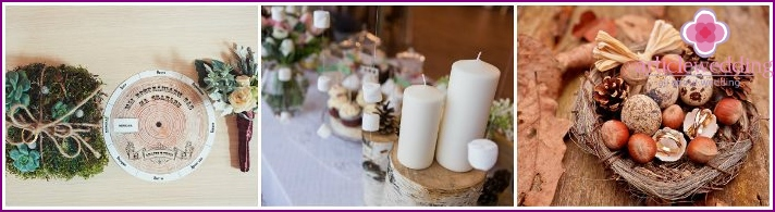 Forest Wedding Accessories
