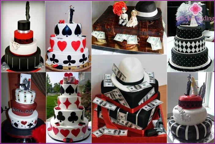 Wedding gangster dessert