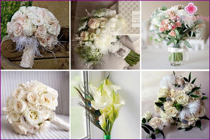 A bouquet for? Gatsby wedding