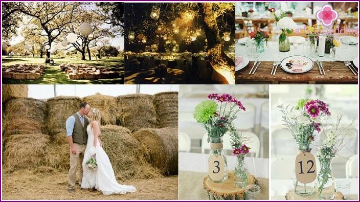 Wedding Rustic style