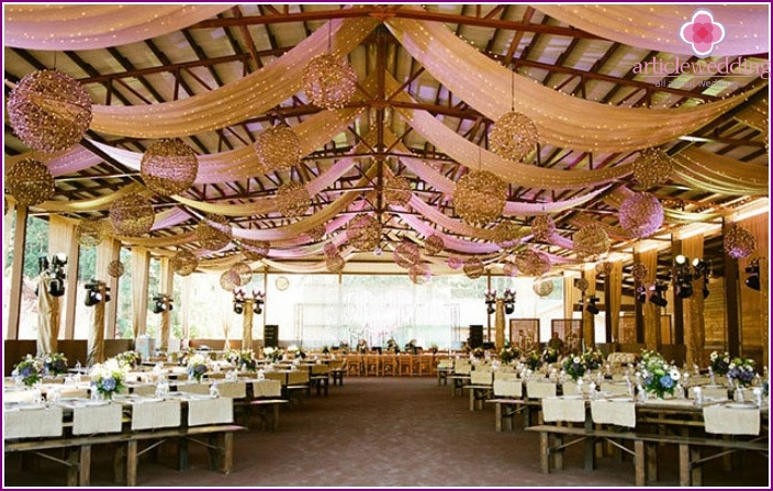 Place for a wedding