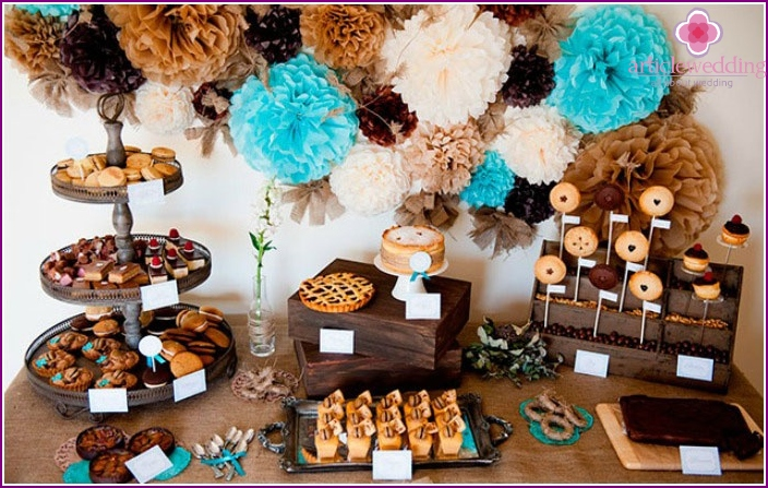 Sweet table for a celebration
