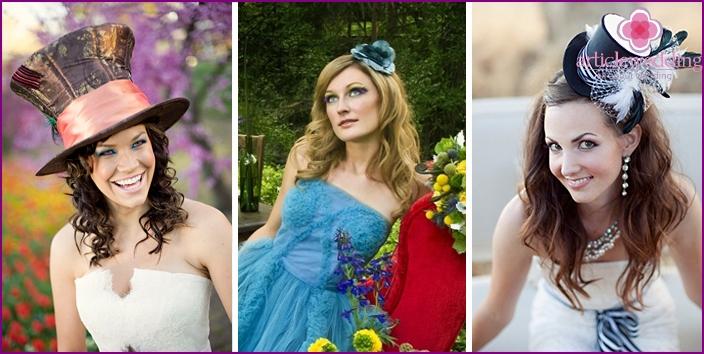 Hair style bride Alice