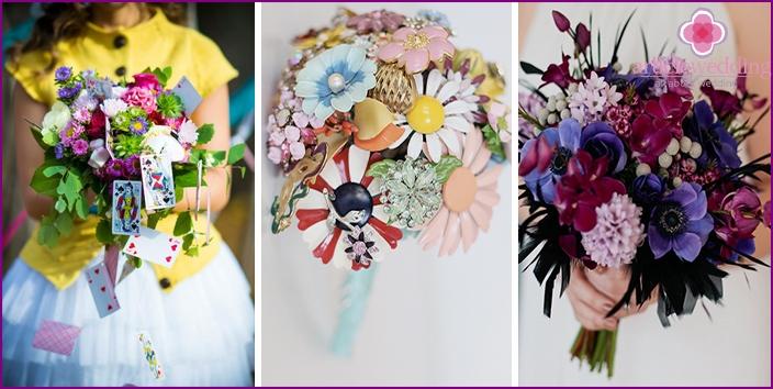 Options bride bouquet