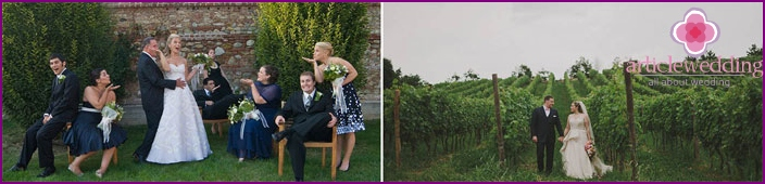 Wedding in Italy, in the territory of Langhe Monferrato