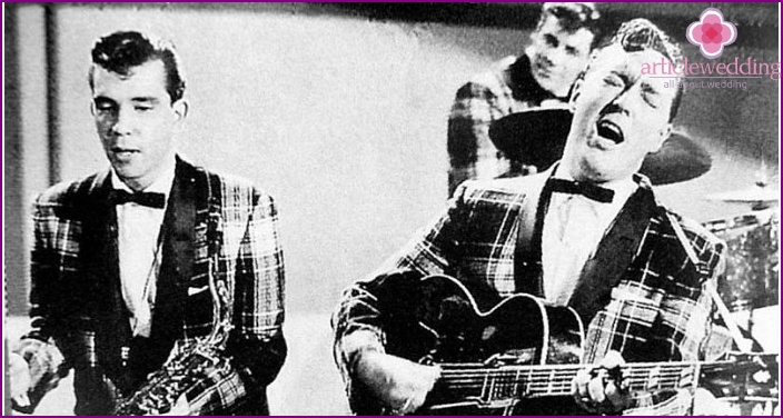 The first performers of rock 'n' roll