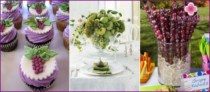 Vine to the wedding feast