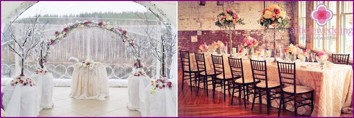 Classic-style wedding
