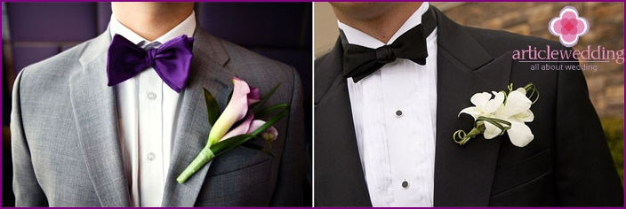 Wedding accessories in classic style