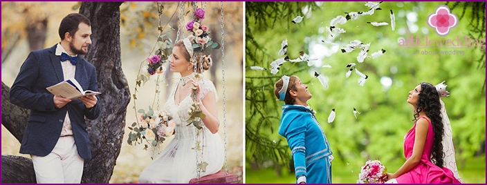 Images of Suite on fairytale wedding