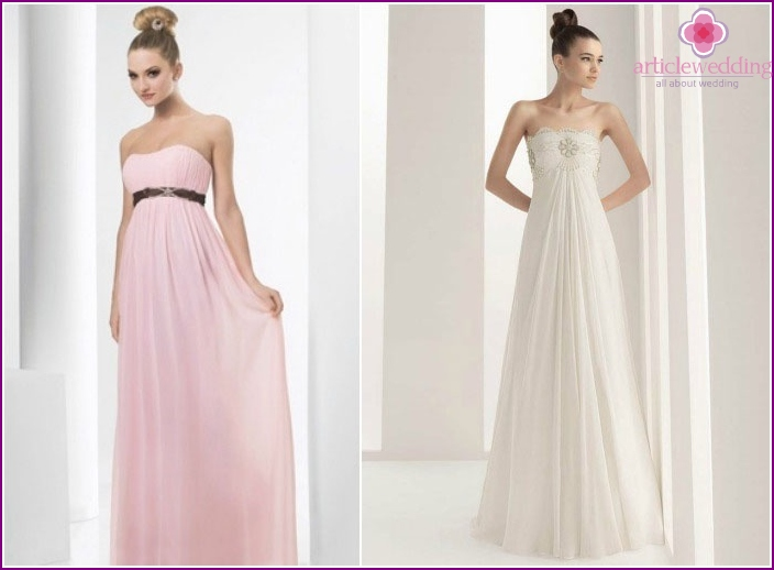 Elegant Empire Dress