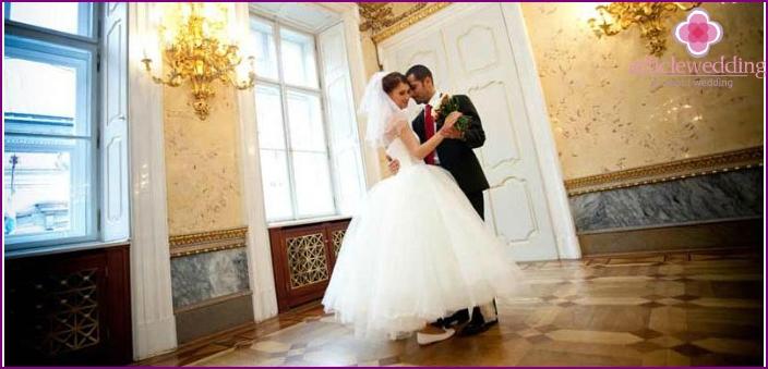 Empire Wedding in country estate
